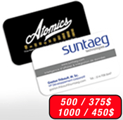 Montreal business cards our products printing online business cards plastic br30 mil thickness colourmoves